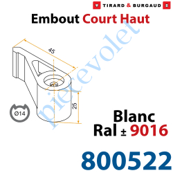 Embout Court Haut modèle Standard en Matériau Composite...