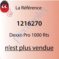Dexxo Pro 1000 Rts Tête Moteur 90 000 Cycles Force 110 Kg...