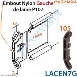Embout Nylon Gauche de Lame P107