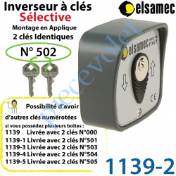 Inverseur à Clés n°2 Modèle: Sélective Elsamec en...