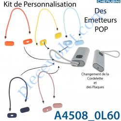 Kit de Personnalisation des Emetteurs Nomades Cherubini...