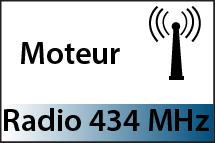 Moteurs Radios 434